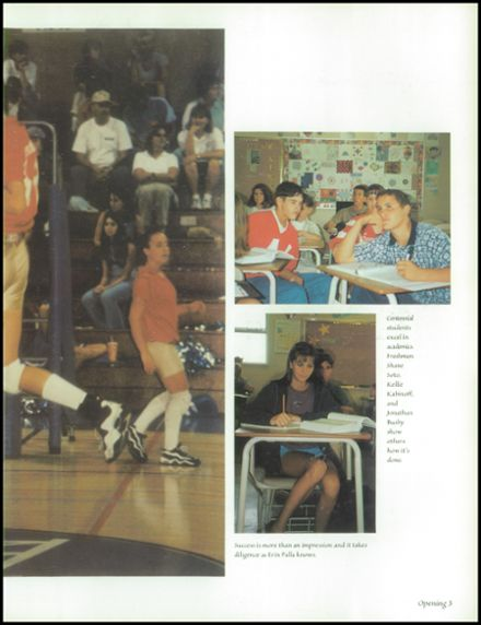 1998 Centennial High School Yearbook Page 7