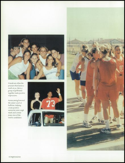 1998 Centennial High School Yearbook Page 8