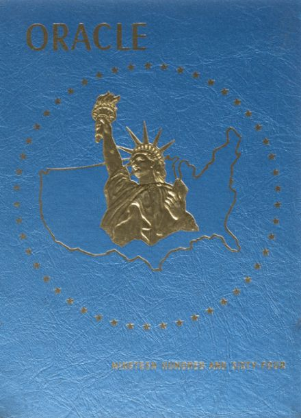 1964 Sierra High School Yearbook Cover