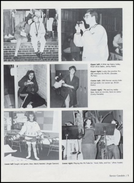 1991 Richland Center High School Yearbook Page 9