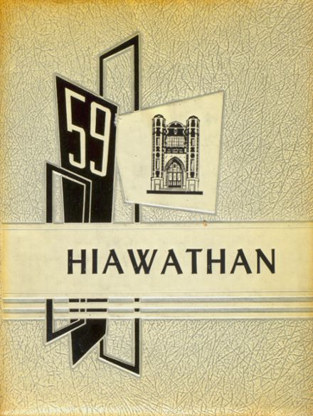 1959 Liverpool High School Yearbook Cover