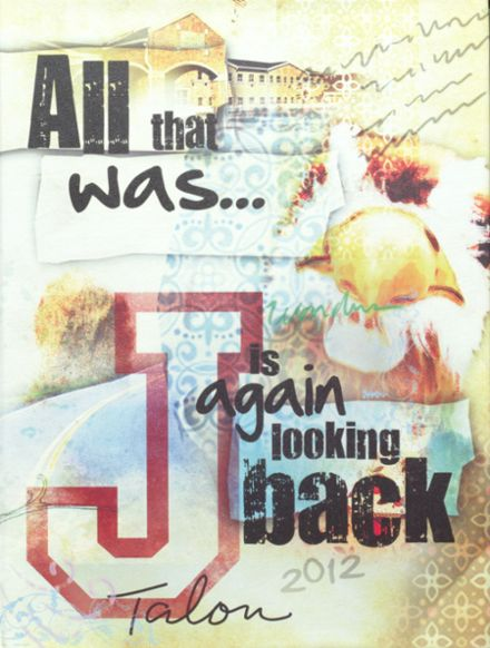 2012 Jefferson Area High School Yearbook Cover