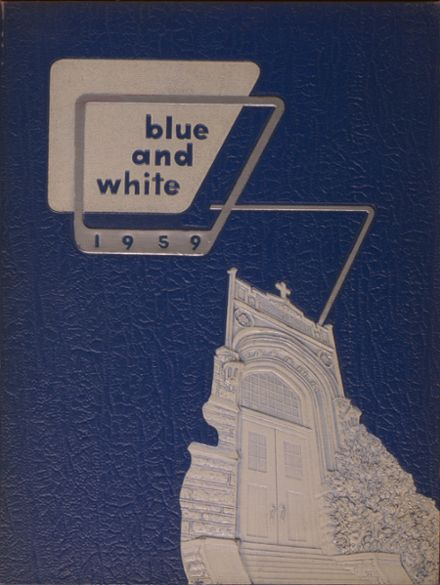 1959 West Philadelphia Catholic High School Yearbook Cover