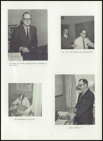 1970 Perham High School Yearbook Page 9
