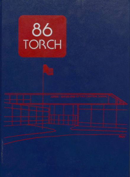 1986 Attica High School Yearbook Cover
