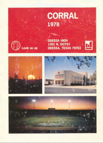 1978 Odessa High School Yearbook Page 1