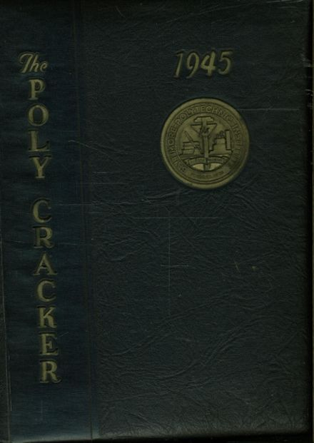 1945 Baltimore Polytechnic Institute 403 Yearbook Page 1