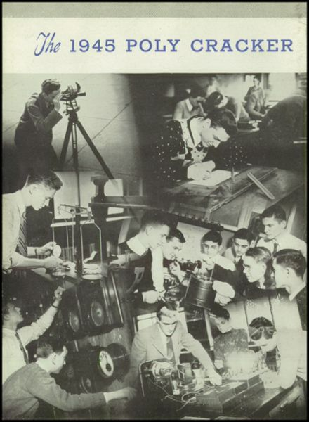 1945 Baltimore Polytechnic Institute 403 Yearbook Page 6