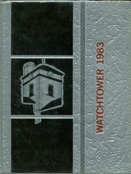 1983 Beverly Hills High School Yearbook Cover