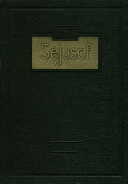 1927 Hagerstown High School Yearbook Cover