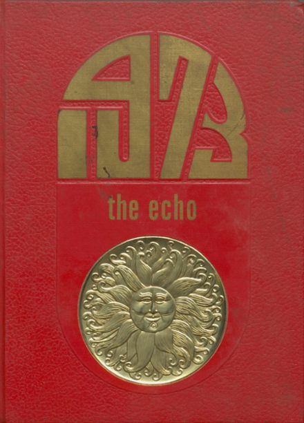 1973 Bland High School Yearbook Cover