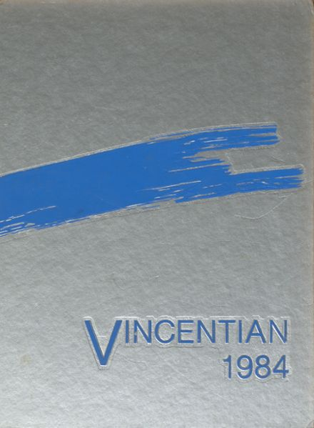 1984 St. Vincent High School Yearbook Cover