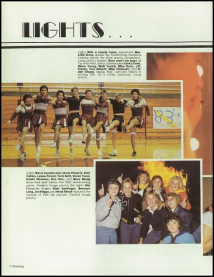 1983 Laramie High School Yearbook Page 6