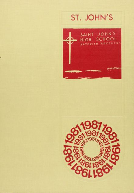 1981 St. John's High School Yearbook Cover