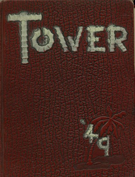 1949 Amherst Central High School Yearbook Cover