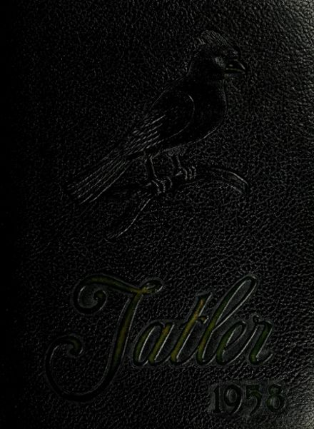 1958 Alton High School Yearbook Cover
