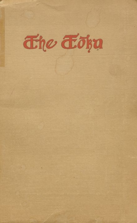 1910 Grants Pass High School Yearbook Cover