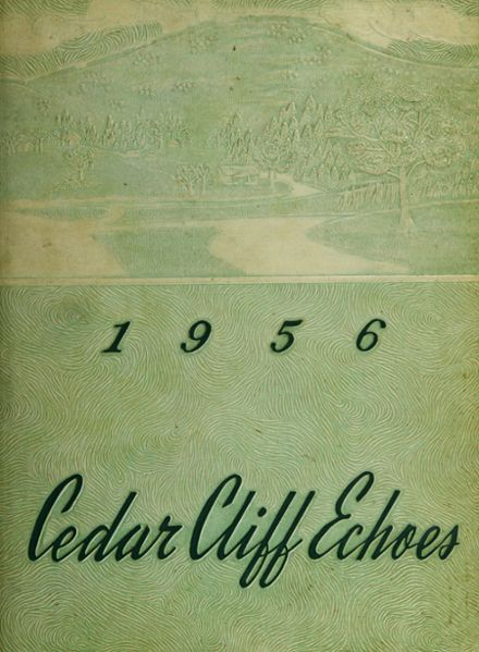 1956 Reynolds High School Yearbook Cover