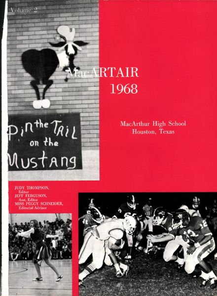 1968 MacArthur High School Yearbook Page 5