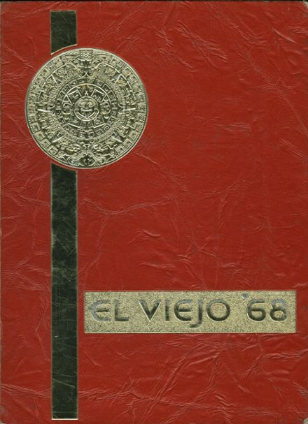 1968 Mission Viejo High School Yearbook Cover