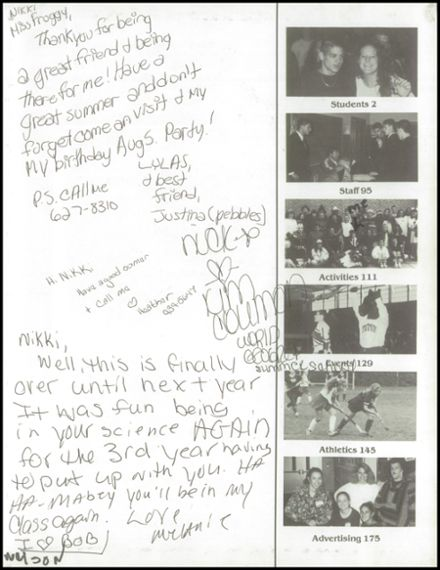 1994 Triton Regional High School Yearbook Page 3