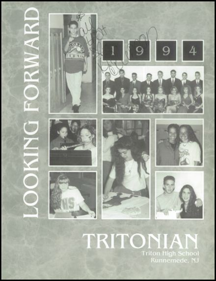 1994 Triton Regional High School Yearbook Page 5