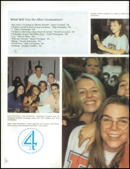 1994 Triton Regional High School Yearbook Page 6