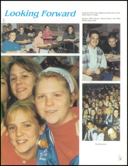 1994 Triton Regional High School Yearbook Page 7