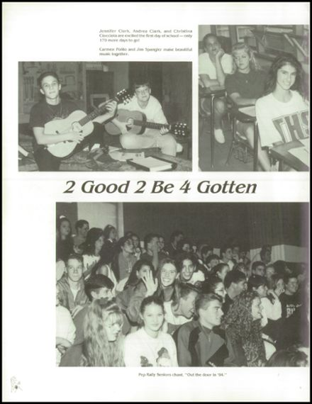1994 Triton Regional High School Yearbook Page 8
