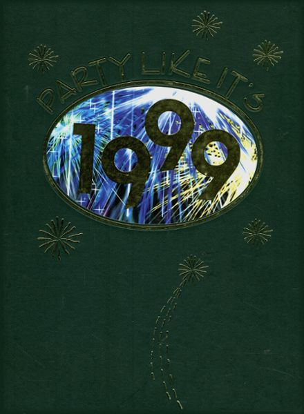 1999 Huron High School Yearbook Cover