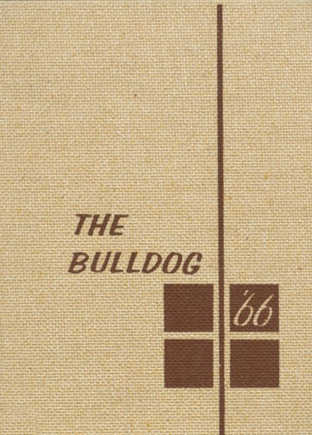 1966 Osceola High School Yearbook Cover