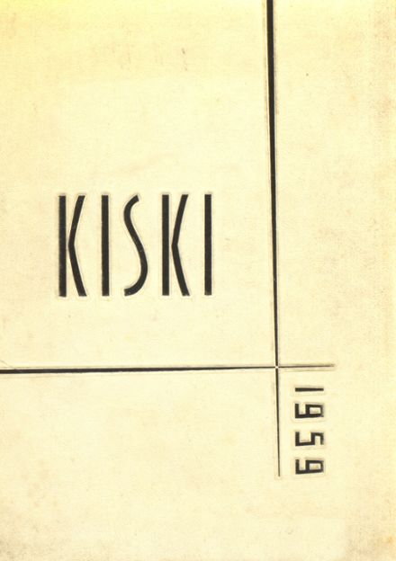 1959 Kiski Area High School Yearbook Cover