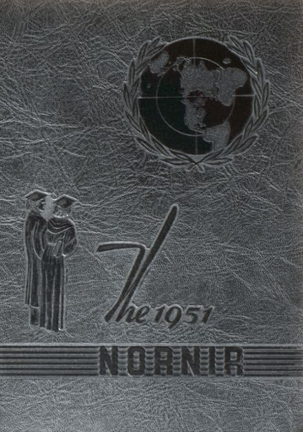 1951 Eichelberger High School Yearbook Cover