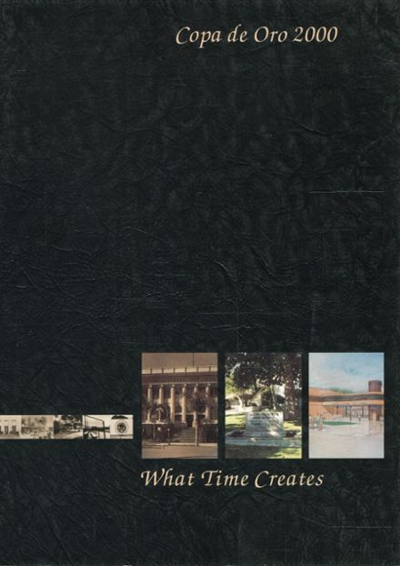 2000 South Pasadena High School Yearbook Page 1