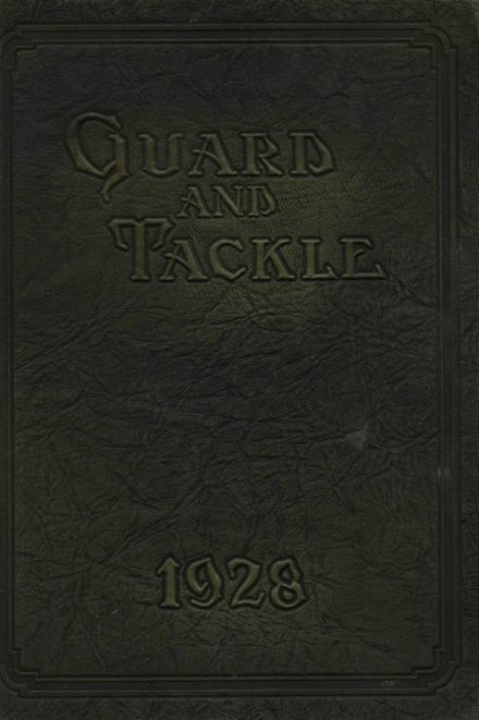 1928 Stockton High School Yearbook Cover