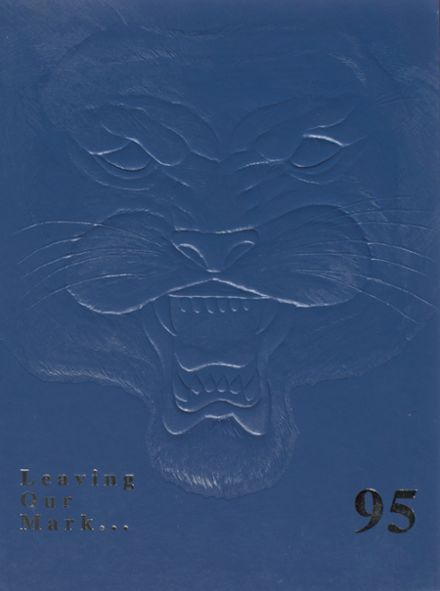 1995 Bath High School Yearbook Cover