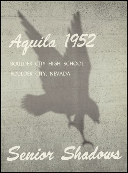 1952 Boulder City High School Yearbook Page 7