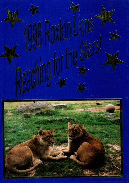 1998 Roxton High School Yearbook Cover