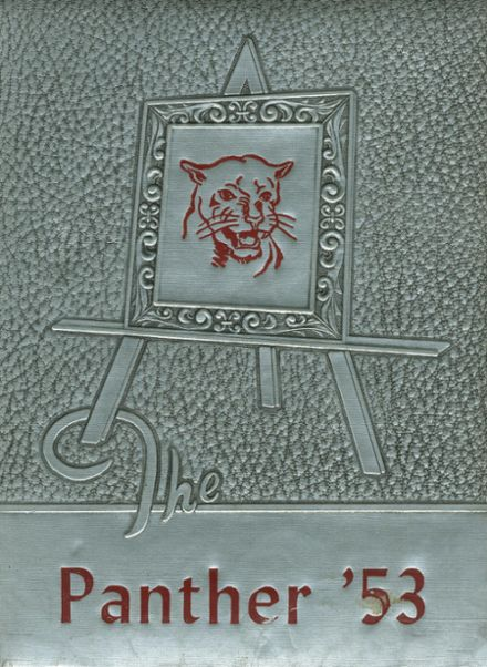 1953 Siloam Springs High School Yearbook Cover