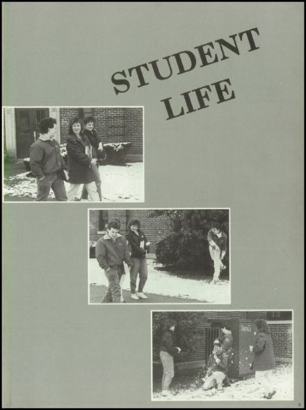 1988 Campbell County High School Yearbook Page 7