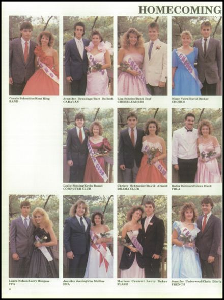 1988 Campbell County High School Yearbook Page 8