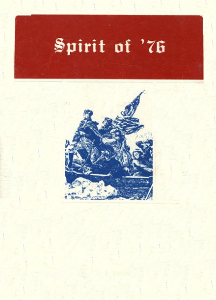 1976 Bloomfield High School Yearbook Cover