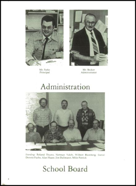 1983 Rib Lake High School Yearbook Page 8