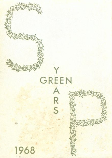 1968 St. Paul's School for Girls Yearbook Cover