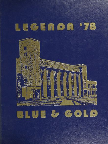 1978 Arthur Hill High School Yearbook Cover