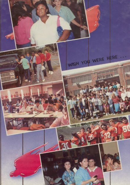 1988 Wewoka High School Yearbook Page 1