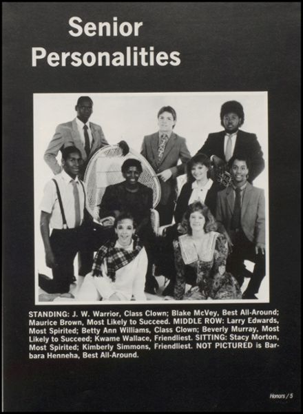 1988 Wewoka High School Yearbook Page 9