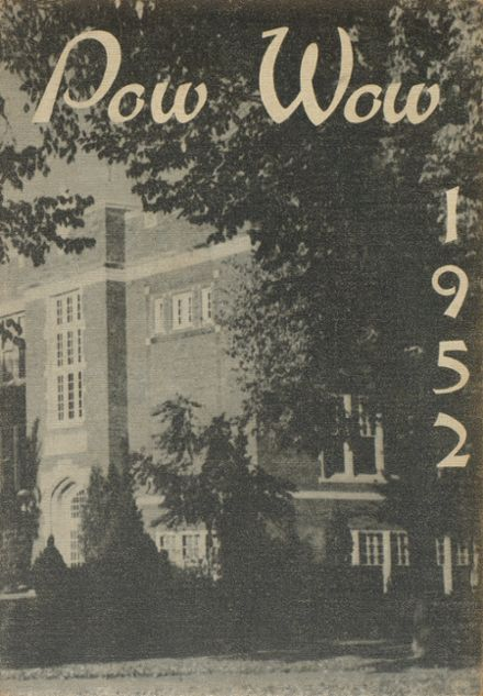 1952 Junction City High School Yearbook Cover