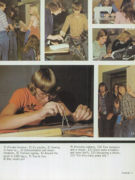 1977 Northmont High School Yearbook Page 9