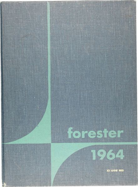 1964 Forest Park High School 406 Yearbook Cover